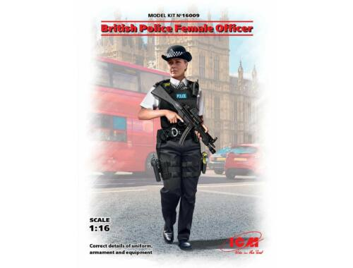 ICM British Police Female Officer 1:16 (16009)