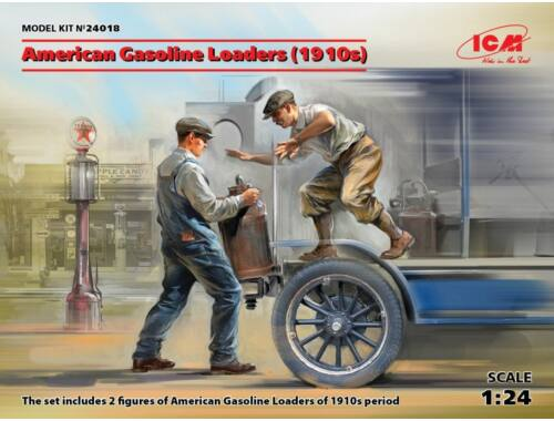ICM American Gasoline Loaders (1910s)(2 figu 1:24 (24018)