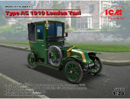 ICM Type AG 1910 London Taxi 1:24 (24031)