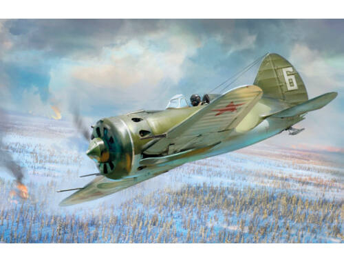 ICM I-16 type 17, WWII Soviet Fighter 1:32 (32005)