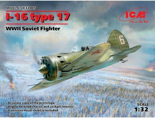 ICM I-16 type 17, WWII Soviet Fighter 1:32 (32005)