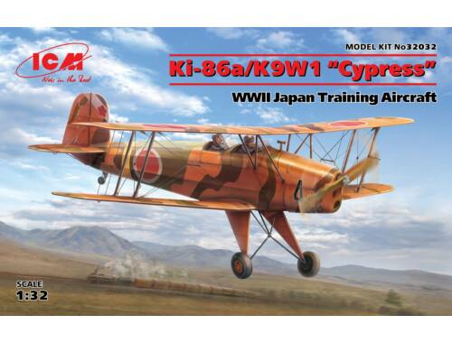 ICM Ki-86a/K9W1 Cypress,WWII Japan Trainin Aircraft 1:32 (32032)