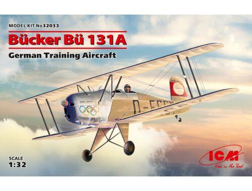 ICM Bücker Bü 131A,German Training Aircraft 1:32 (32033)