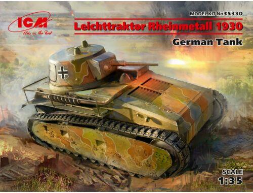 ICM Leichttraktor Rheinmetall 1930,GermanTan 1:35 (35330)