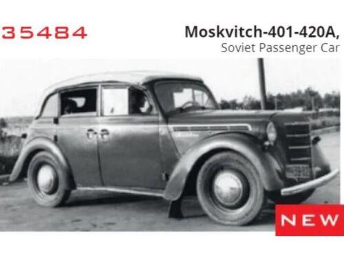 ICM Moskvitch-401-420A,Soviet Passenger Car 1:35 (35484)