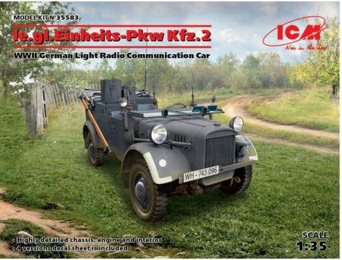ICM le.gl.Einheitz-Pkw Kfz.2,WWII German Car 1:35 (35583)