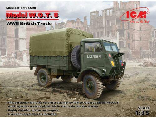 ICM Model W.O.T.8, WWII British Truck 1:35 (35590)