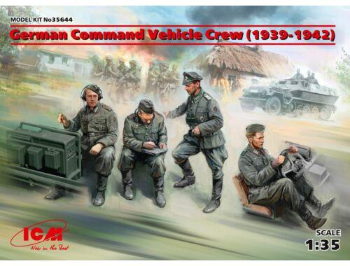 ICM German Command Vehicle Crew (1939-1942) (4 figures) 1:35 (35644)