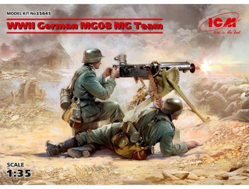 ICM WWII German MG08 MG Team (2 figures) 1:35 (35645)