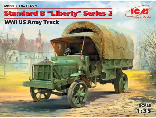 ICM Standard BLibertySeries 2,WWI US Army Truck 1:35 (35651)