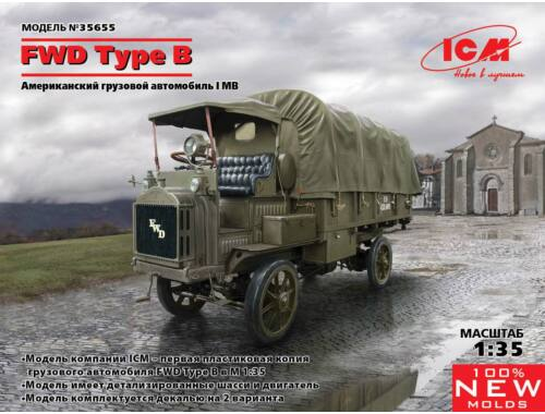 ICM FWD Type B, WWI US Army Truck 1:35 (35655)