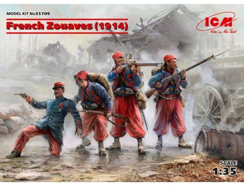 ICM French Zouaves (1914) (4 figures) 1:35 (35709)