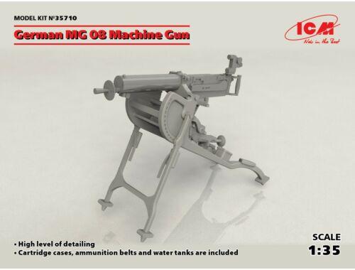 ICM German MG08 Machine Gun 1:35 (35710)