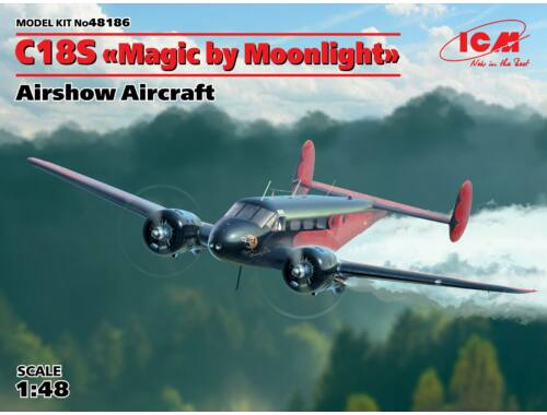 ICM C18SMagic by MoonlightAirshow Aircraft 1:48 (48186)