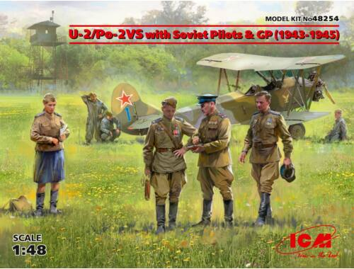 ICM U-2/Po-2VS with Soviet Pilots   GP (1943 -1945) Limited 1:48 (48254)