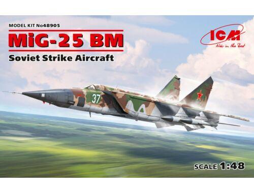 ICM MiG-25 BM, Soviet Strike Aircraft 1:48 (48905)
