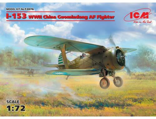 ICM I-153,WWII China Guomindang AF Fighter 1:72 (72076)