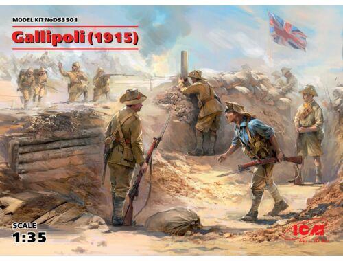 ICM Gallipoli (1915) 1:35 (DS3501)