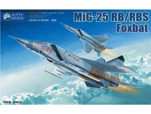 Kitty Hawk MiG-25 RB/RBT Foxbat 1:48 (KH80113)