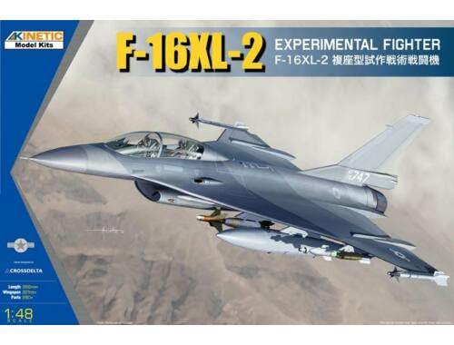 KINETIC F-16XL-2 Experimental Fighter 1:48 (48086)