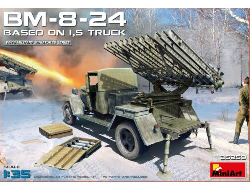 MiniArt BM-8-24 Based on 1,5t Truck 1:35 (35259)
