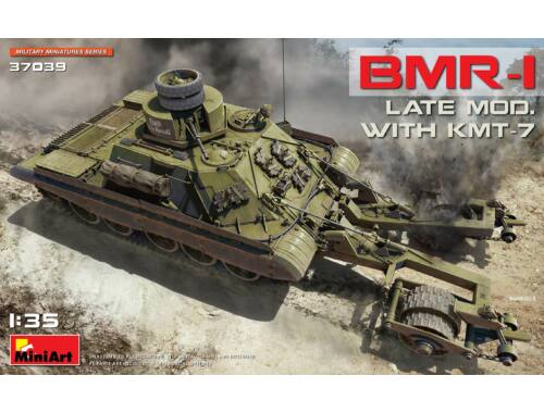 MiniArt BMR-1 Late Mod. with KMT-7 1:35 (37039)