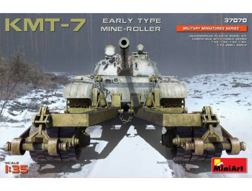 MiniArt KMT-7 Early Type Mine-Roller 1:35 (37070)