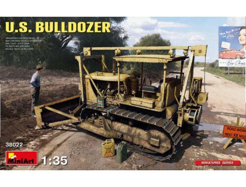 MiniArt U.S. Bulldozer 1:35 (38022)