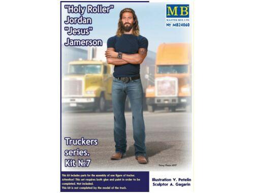 Master Box Truckers seriesHoly RollerJordanJesus Jamerson 1:24 (24060)
