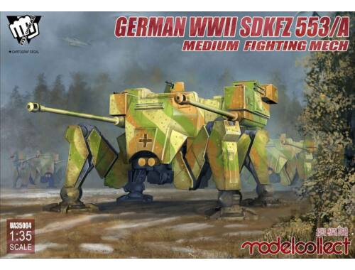 Modelcollect Fist of War German WWII sdkfz 553/A medium fighting Mech 1:35 (UA35004)