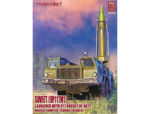 Modelcollect Soviet(9P117M1) Laungher R17 rocket of 9K72 missile ELEBRUS/SCUD B 1:72 (UA72138)