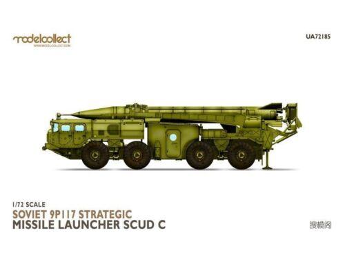 Modelcollect Soviet 9P117 Strategic missile launcher (SCUDC) 1:72 (UA72185)