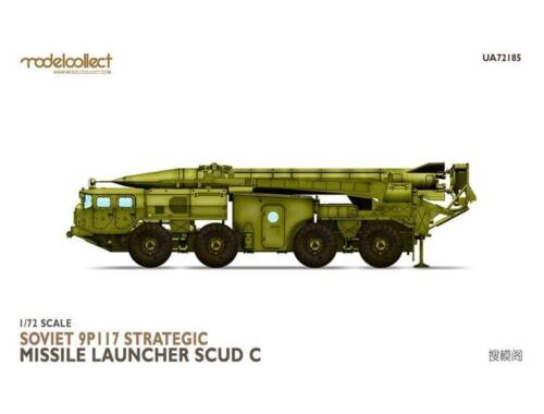 Modelcollect Soviet 9P117 Strategic missile launcher (SCUDC) 1:72 (UA72185)
