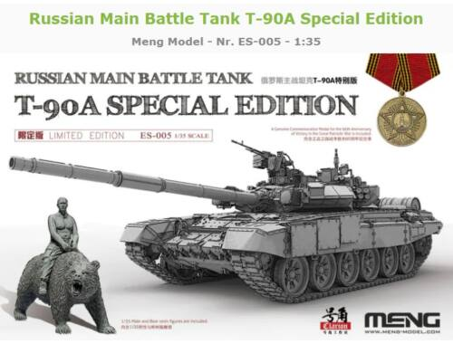 Meng Russian Main Battle Tank T-90A Special Edition 1:35 (ES-005)