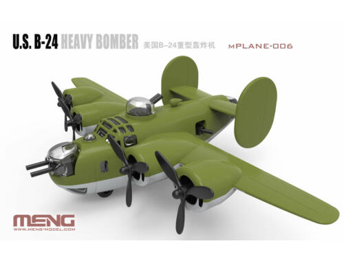 Meng U.S. B-24 Heavy Bomber (Cartoon Model) (mPLANE-006)
