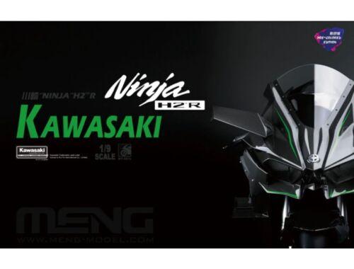 Meng Kawasaki Ninja H2R (Pre-colored Edition) 1:9 (MT-001s)