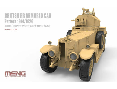 Meng British RR Armored Car Pattern 1914/1920 1:35 (VS-010)