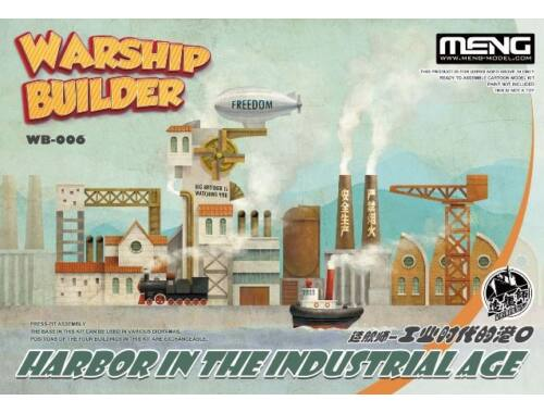 Meng Warship Builder-Harbor In The Industrial Age (CARTOON MODEL) (WB-006)