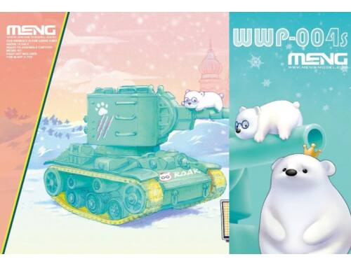 Meng KV-2 (CartoonModel, incl.resin cartoon bear figurines) (WWP-004s)