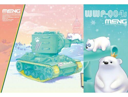 Meng KV-2 (CartoonModel, incl.resin cartoon bear figurines) (WWP-004s)