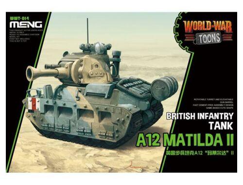 Meng British Infantry Tank A12 Matilda II (CartoonModel) (WWT-014)