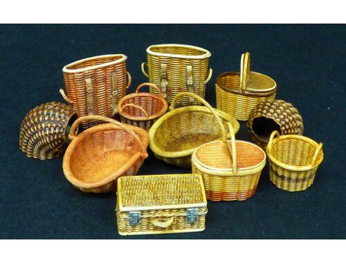 Plus model Wicker baskets-small 1:35 (507)