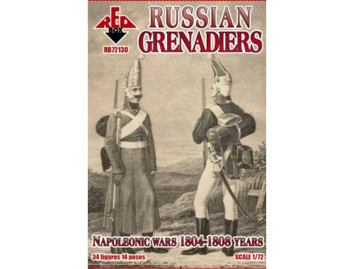 Red Box Russian grenadiers, 1804-1808 1:72 (RB72130)