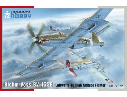 Special Hobby Blohm Voss BV 155B-1 Luftwaffe 46 High Altitude Fighter 1:72 (72372)