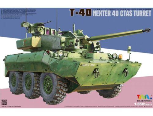 Tigermodel T-40 Nexter 40 CTAS Turret 1:35 (4665)
