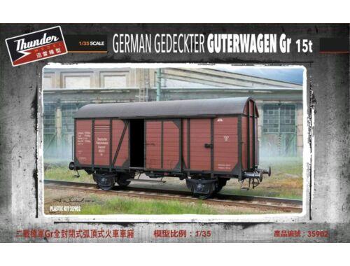 Thundermodels German Gedeckter Guterwagen Gr 15t 1:35 (35902)