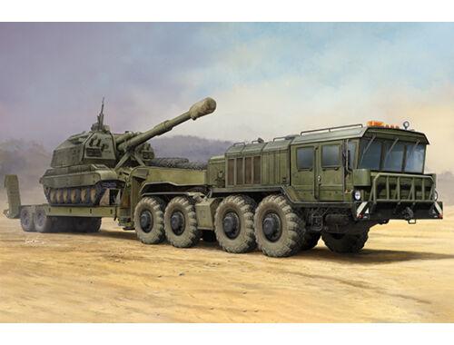 Trumpeter Russian KZKT-7428 Transporter with KZKT-9101 Semi Trailer 1:35 (01039)