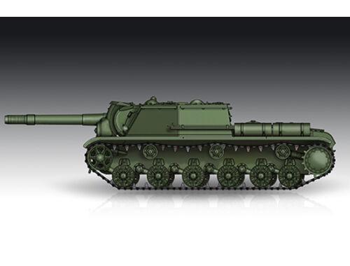 Trumpeter Soviet SU-152 Self-propelled Heavy Howitzer - Late 1:72 (7130)