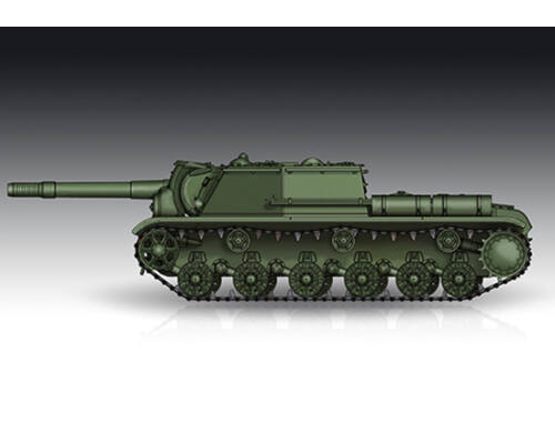 Trumpeter Soviet SU-152 Self-propelled Heavy Howitzer - Late 1:72 (7130)