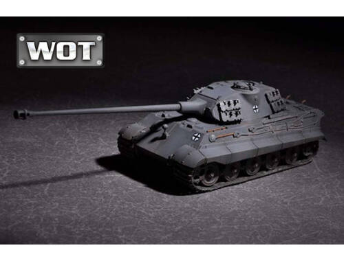 Trumpeter German King Tiger(Porsche turret)w.105mm kWh L/68 1:72 (07161)